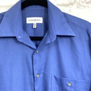 YSL Men's Button up work shirt Small 14 1/2 32-33